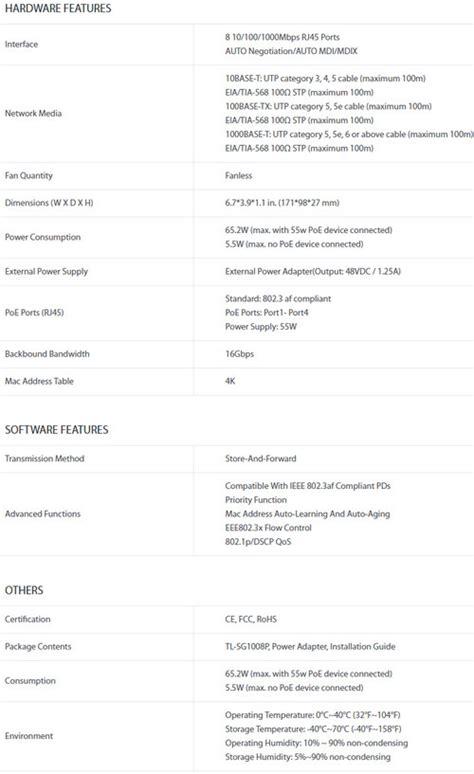 Harga Tp Link Wr940n jual tp link tl sg1008p harga bersaing spesifikasi