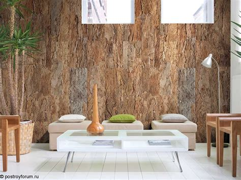 Kork Pinnwand Streichen by пробковые обои на стенах фото