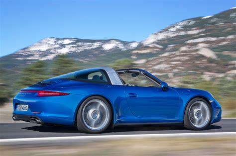 porsche targa 2014 porsche 911 targa first look motor trend