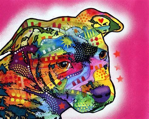 pit paint pit pup pit bull puppy original painting pitbull