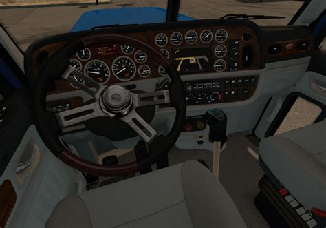 transmission for peterbilt 389 scs in interior mod