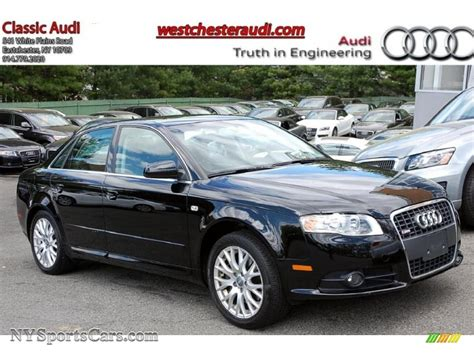audi a4 2008 2008 audi a4 2 0t quattro s line sedan in brilliant black