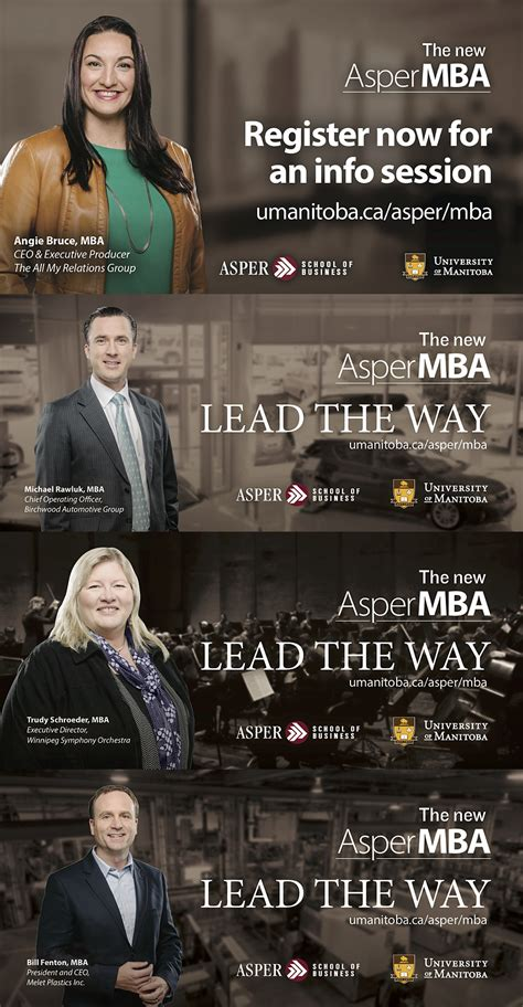 Mba In Advertising Usa by Asper Mba Ads Ian Mccausland