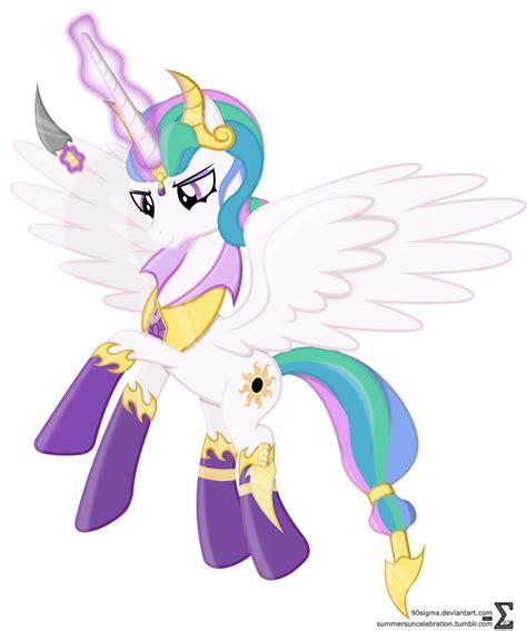 mlp princess celestia evil princess celestia by 90sigma on deviantart