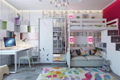 Ordinaire Deco Design Chambre Fille #2: decoration-chambre-enfant-lit-superpose-e1417690072807.jpg