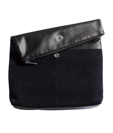Hnm Clutch h m clutch bag in black lyst