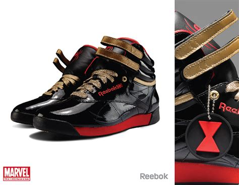 Reebok Freestyle Limited Edition by Reebok X Marvel Limited Edition Footwear On Behance