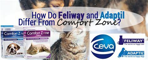 feliway vs comfort zone ceva feliway and adaptil vs comfort zone with feliway and