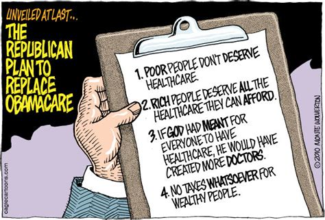 gop healthcare plan jesus needs money republican view of healthcare