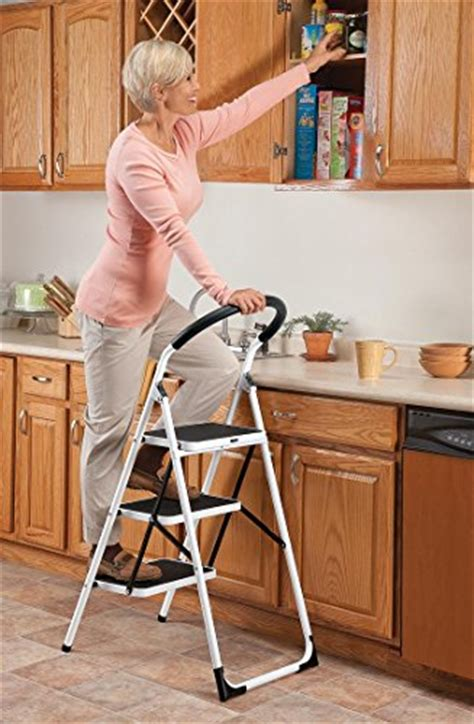 Easycomforts Wide Step Stool by Easycomforts Step Ladder Stool Combo Tools