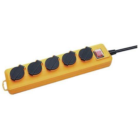 Pro Line 5 multiprise pro ext 233 reiure 224 clapets avec interrupteur