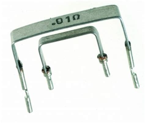 metal element current sense resistor 3 watt bare element resistor flameproof construction available through rs components