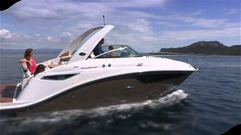 aquarius bateau youtube new sea ray 265 sundancer youtube