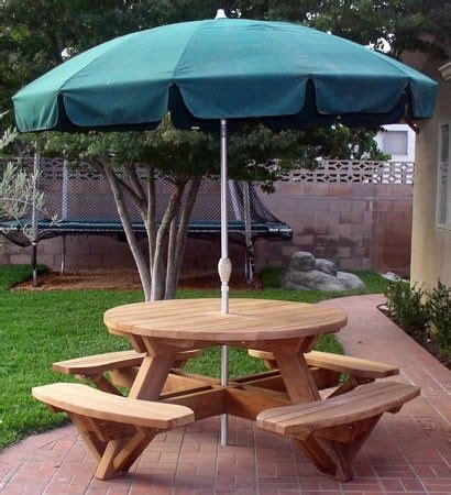 picnic tables attached benches  patio table