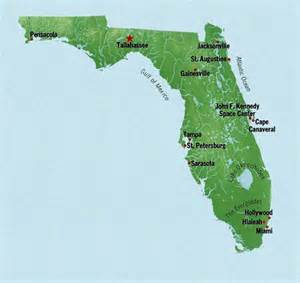 florida map of state state map of florida with cities