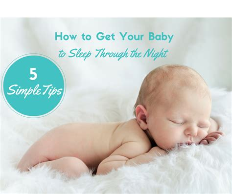 How To Get Baby To Sleep Through The Night Sleep Baby How Do You Get Baby To Sleep In Crib