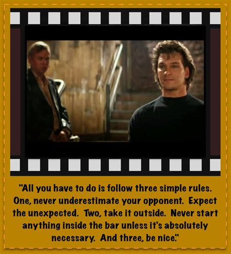 road house quotes 32 best images about road house on pinterest sexy patrick o brian and the movie