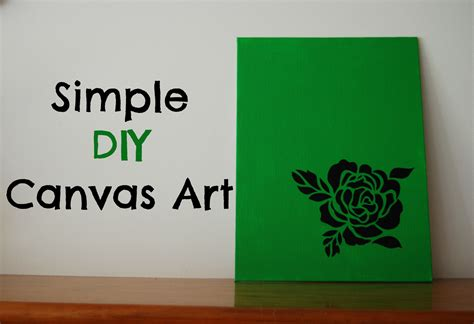 15 super easy diy canvas painting ideas for artistic home american honey simple diy canvas art