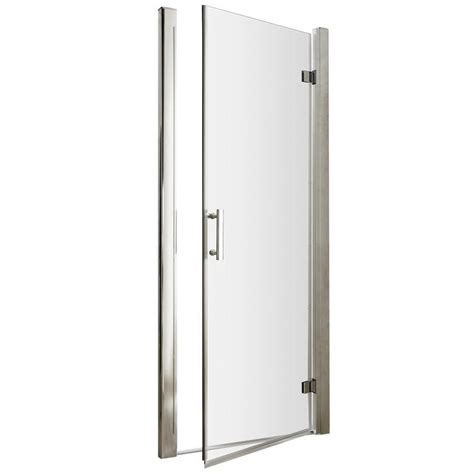 Lauren Pacific 800 X 1850mm Hinged Shower Door 800 Shower Door