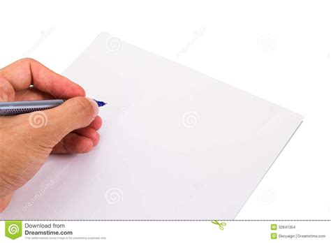 writing on paper writing blank paper stock images image 32841354