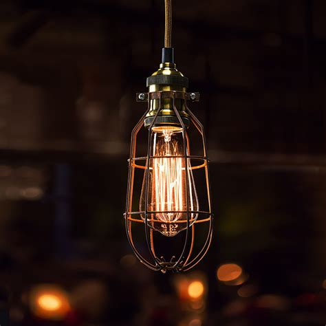 Light Cage by Bulb Cage Light Fittings Bulb Cage Industrial Vintage
