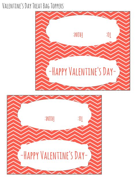 Free Printable Valentines Day Bag Toppers Domestic Mommyhood Free Printable Bag Toppers Templates