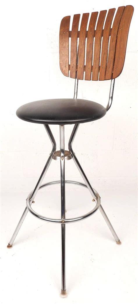 century furniture bar stools set of five mid century modern swivel bar stools for sale