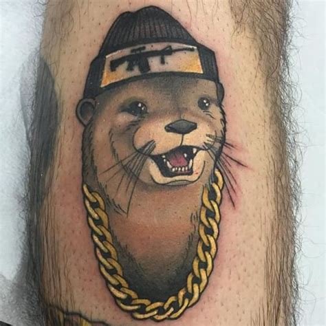 otter tattoos 12 fancy otter tattoos tattoodo stuff