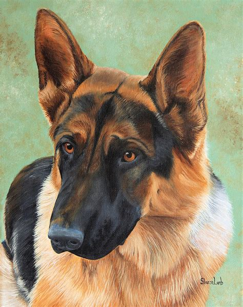 paintings of dogs pet portrait painting commission dogs cats horses painting by