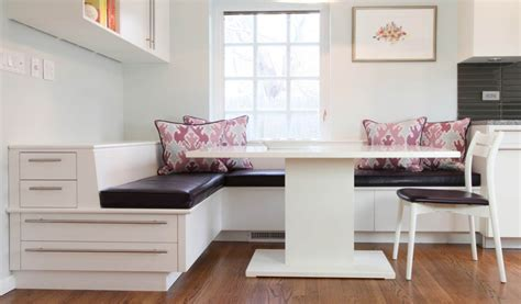 white kitchen bench seating bench seating for kitchen trendyexaminer
