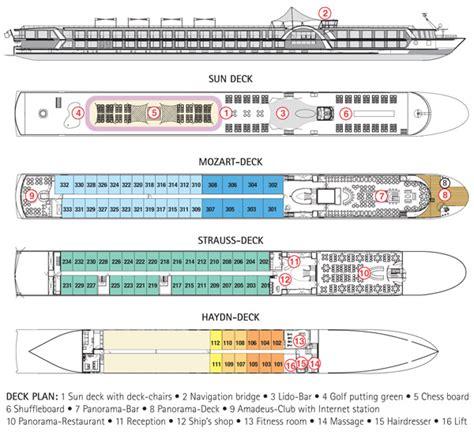 Free Home Plan deck plan ms amadeus brilliant beyond travelbeyond travel