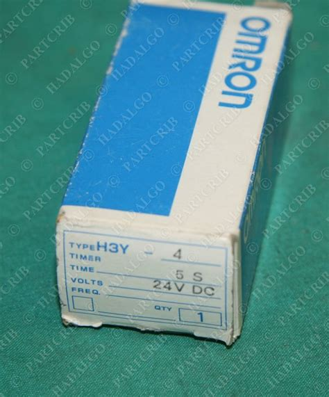 Timer H3y 4 C 10 Sec Dc 24v Omron Original omron h3y 4 timer 5sec relay 5s 24v 24 volt dc 24vdc 5 second new partcrib