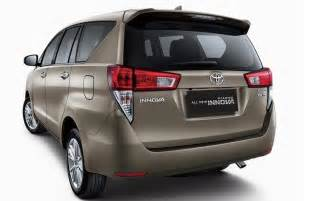 Toyota Fs New Toyota Innova 2016 5 Things You Should The