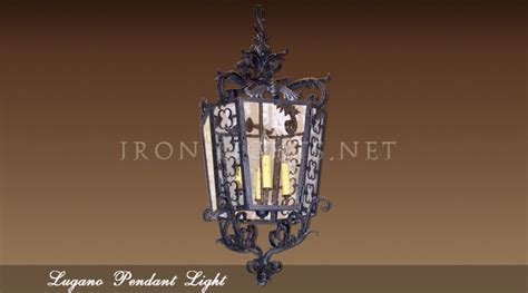 kitchen lighting wrought iron kitchen lights pendant