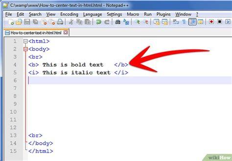 posicionar imagenes html c 243 mo centrar un texto en lenguaje html 9 pasos
