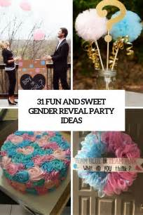 Golf Cake Decorations 31 Fun And Sweet Gender Reveal Party Ideas Shelterness