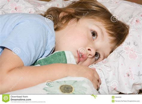 i m in bed when i m sick stock photo image 3564930