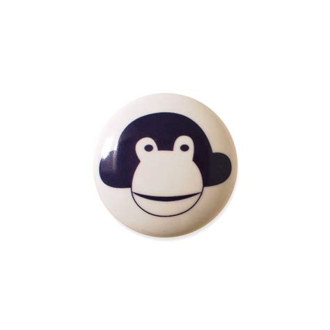 Monkey Knobs by Mini Knob Design Aspegren Denmark Monkey Lilacaspegren