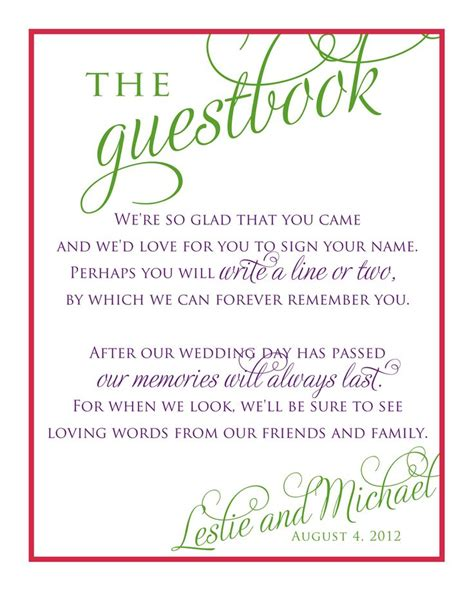 guest sign in book template bridal shower guest book template wedding stationery for