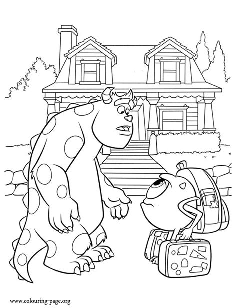 coloring pages of monster university monster university coloring printable coloring pages