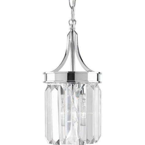 chrome pendant light kitchen progress lighting glimmer collection 1 light polished