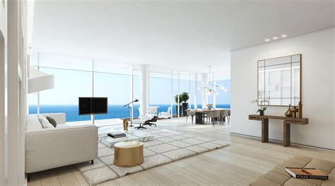 One Bedroom Apartments In Miami 17 white modern apartment interior design ideas