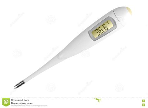 Termometer Digital Elektronik digital electronic thermometer stock image image 20550051