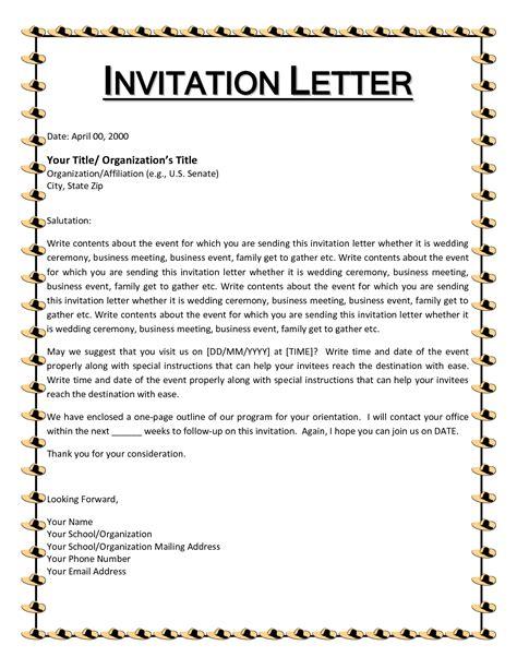 important basics letter