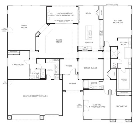 awesome one story house plans awesome incredible amazing single story floor plans one