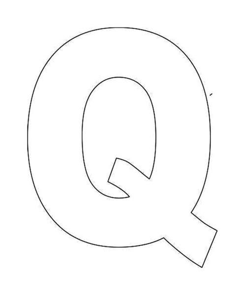 letter q template printable letter q template alphabet letter q templates