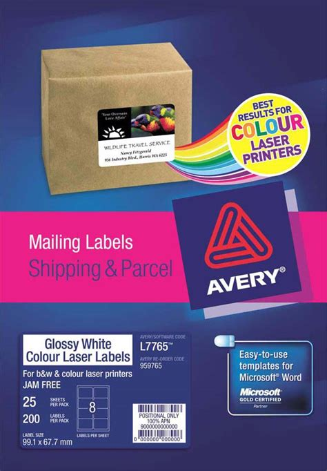 Whatever White 2in1 Salur Tebal avery 174 glossy white photo quality labels l7765 25 avery singapore