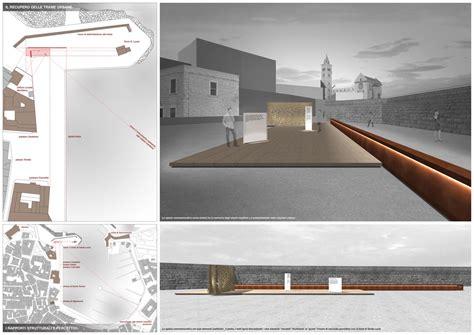 grafica tavole architettura ordine degli architetti bat