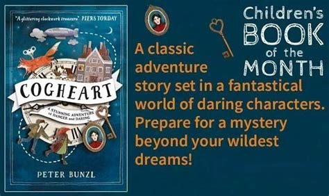 Waterstones Lit Book Of The Month by Cogheart Is Waterstones Children S Book Of The Month