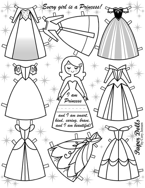 paper doll coloring pages elsa paper dolls coloring pages